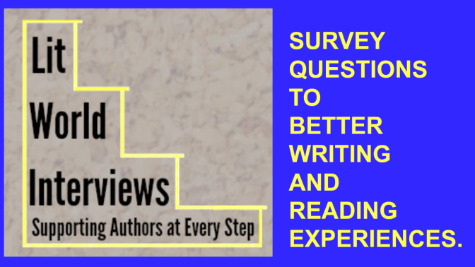 Lit World Interviews survey questions image