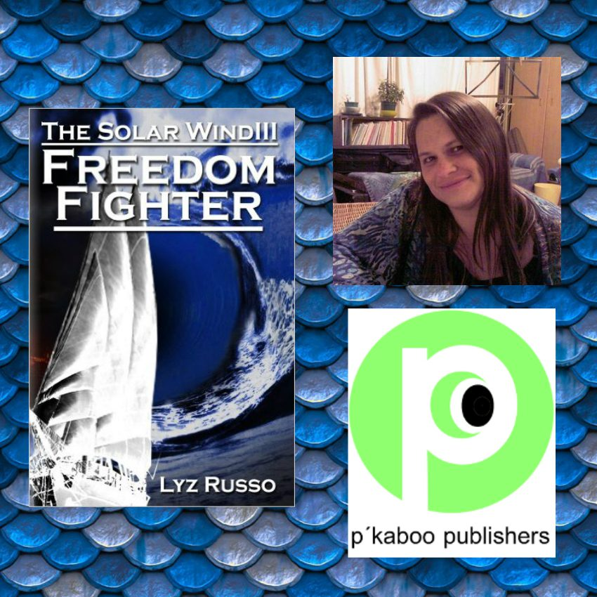 "#BOOK REVIEW BY @COLLEENCHESEBRO OF ""Freedom Fighter, Solar Wind 3,"" BY AUTHOR @LYZRUSSO"