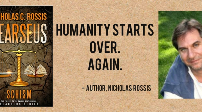 "#BOOK REVIEW BY @COLLEENCHESEBRO OF ""Pearseus, Schism"" BY AUTHOR @NICHOLAS_ROSSIS"