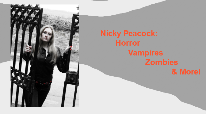 Interview with @NickyP_author of Horror, Vampires, & More.