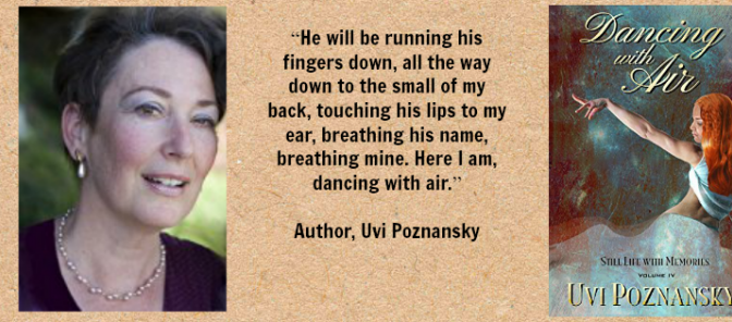 "#BOOK REVIEW BY @COLLEENCHESEBRO OF ""Dancing With Air,"" BY AUTHOR @UVIPOZNANSKY"