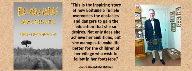 "#BOOK REVIEW BY @COLLEENCHESEBRO OF ""Eleven Miles,"" BY AUTHOR @LANCEGMITCHELL"