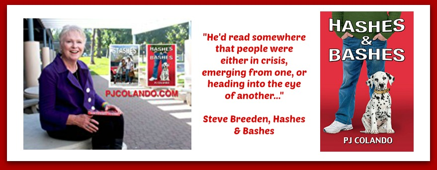 "#BOOK REVIEW BY @COLLEENCHESEBRO OF ""Hashes & Bashes,"" BY AUTHOR P J COLANDO"