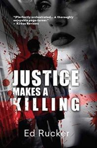 Justice makes a killing book cover.