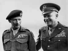 Eisenhower and Montgomery photo