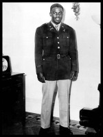 Jackie Robinson military photo