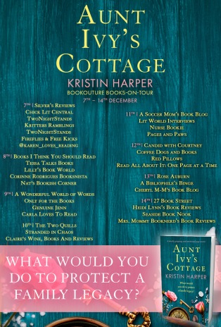 Aunt Ivy's Cottage Blog Tour image with other blog sitts.