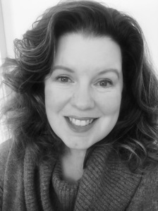 KIMBERLY HESS Black and White Author photo